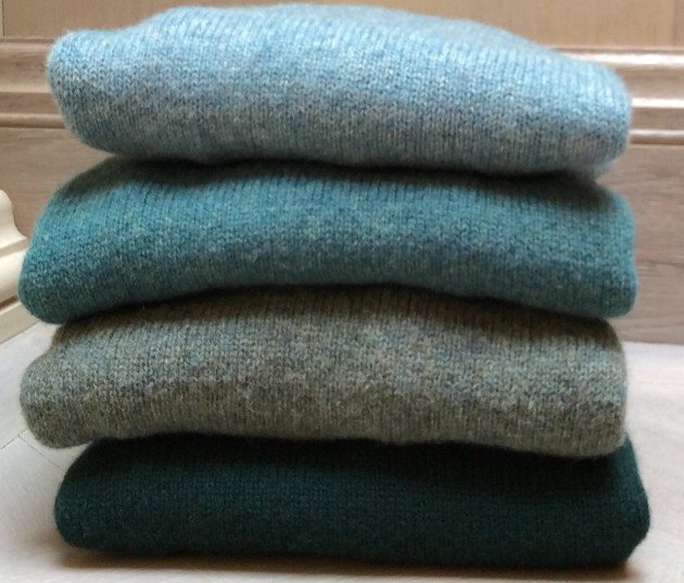 Anderson and Sheppard - Shetland Sweaters Water Colours