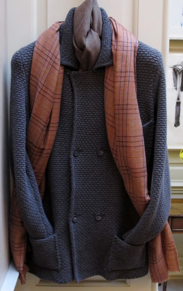 Anderson and Sheppard Knitted Jacket