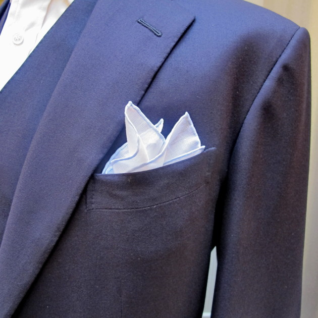 Anderson and Sheppard Linen-Cotton Pocket Square (2)