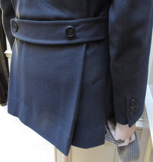 Anderson and Sheppard Pleats on utility Jacket