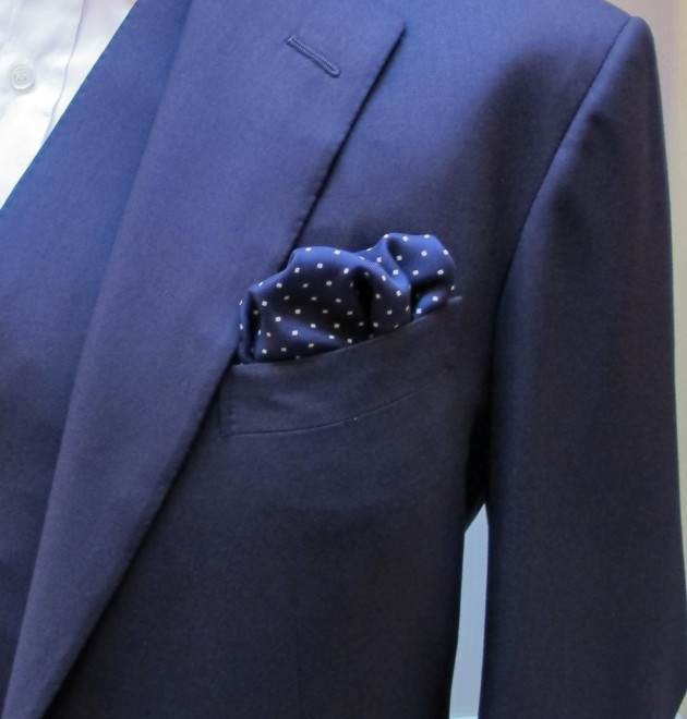 Anderson and Sheppard Silk Pocket Square (2)