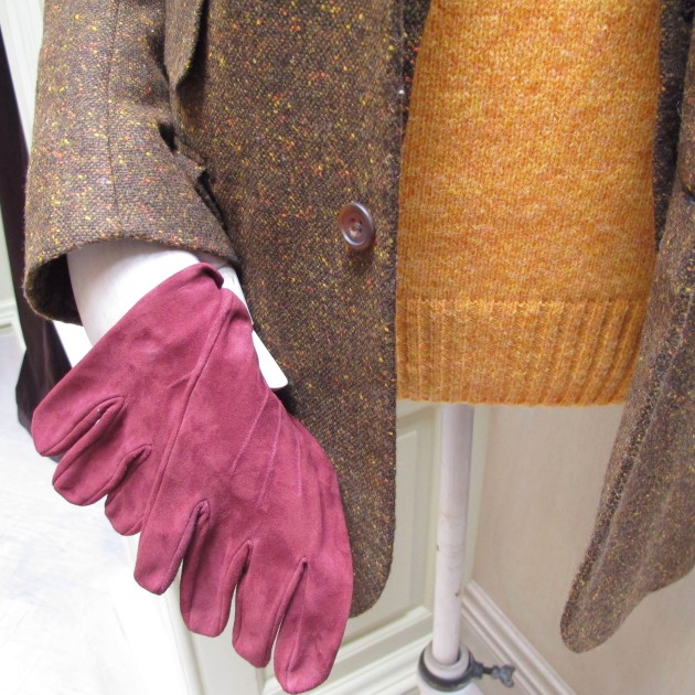 Anderson and Sheppard Suede Leather Gloves