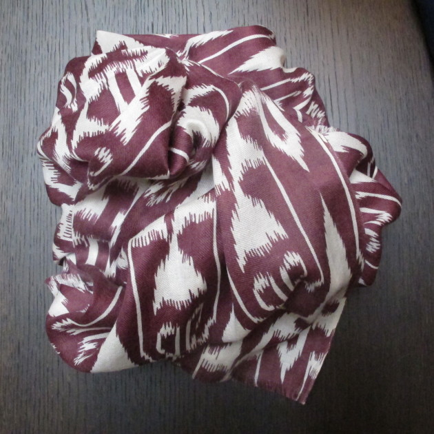 Anderson and Sheppard Ikat Scarves