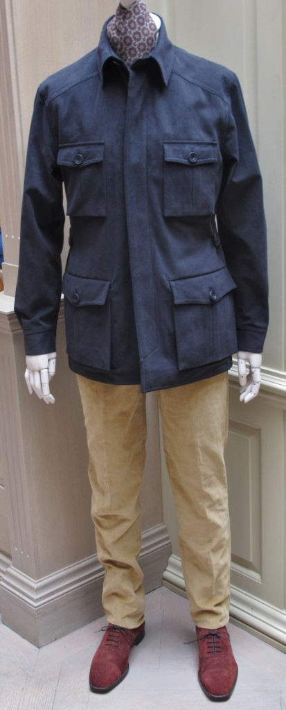 Anderson and Sheppard Travel Jacket  (1)