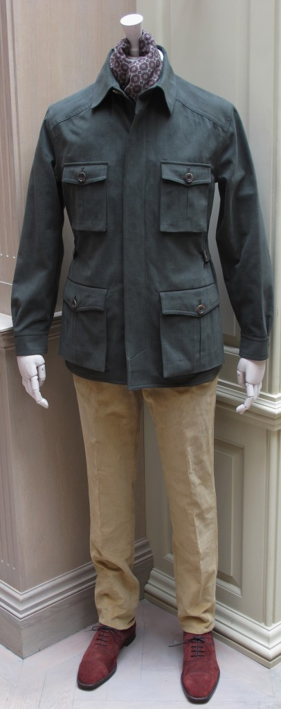 Anderson and Sheppard Travel Jacket  (4)