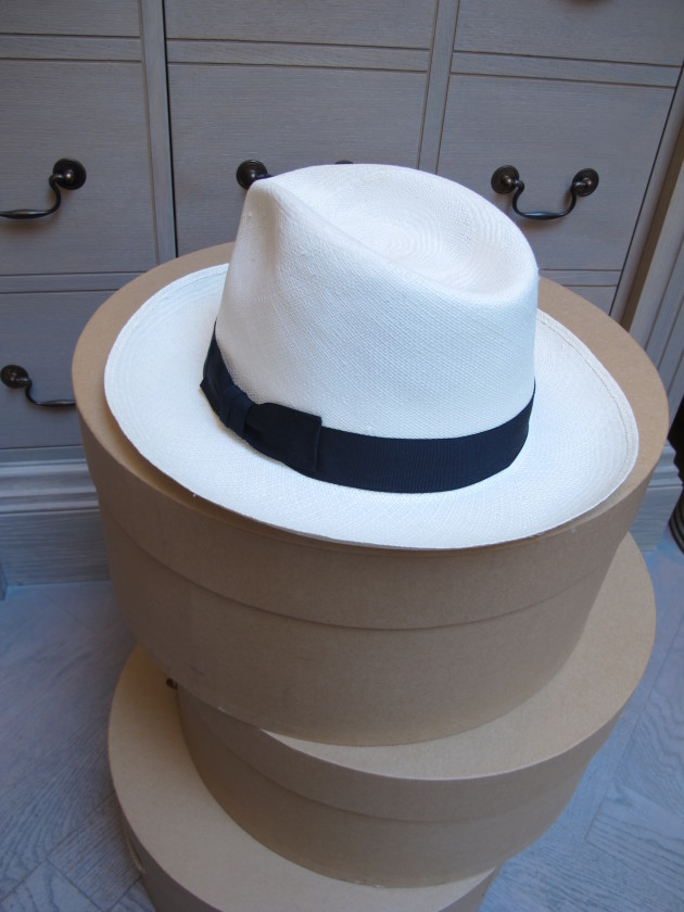 Narrow Brimmed Navy