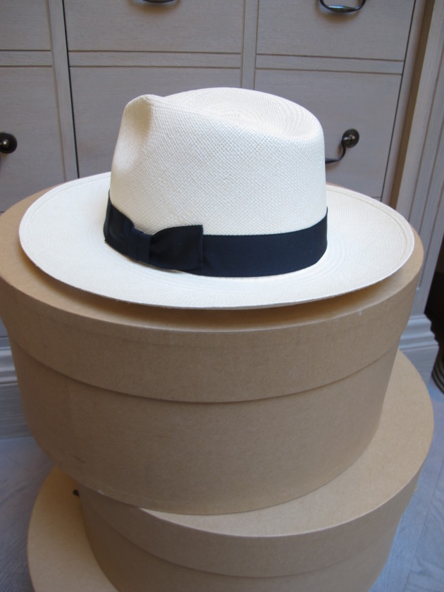 Wide Brimmed Navy
