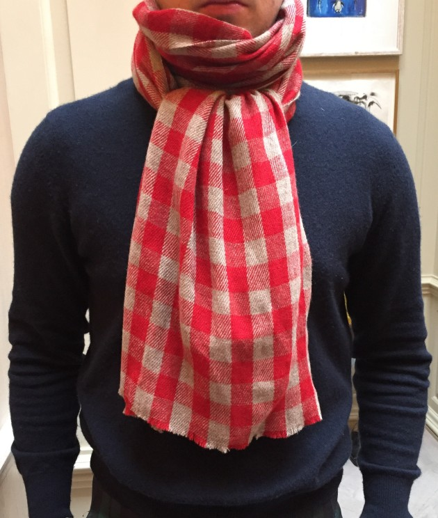Anderson and Sheppard cashmere Scarves  (1)