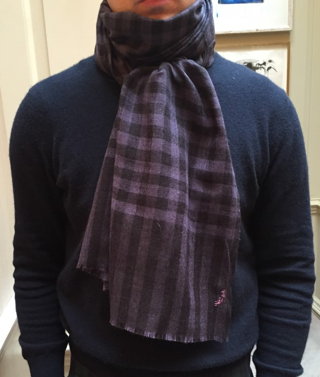 Anderson and Sheppard cashmere Scarves  (2)