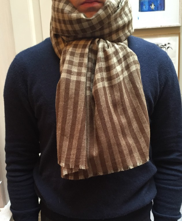 Anderson and Sheppard cashmere Scarves  (3)