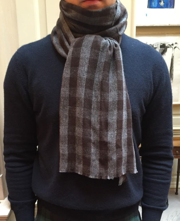 Anderson and Sheppard cashmere Scarves  (5)
