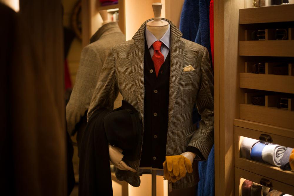 Anderson & Sheppard POW bespoke suit (1)