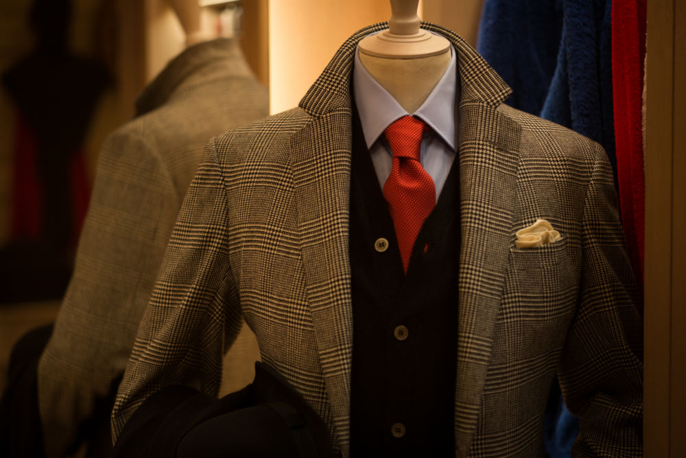 Anderson & Sheppard POW bespoke suit (2)