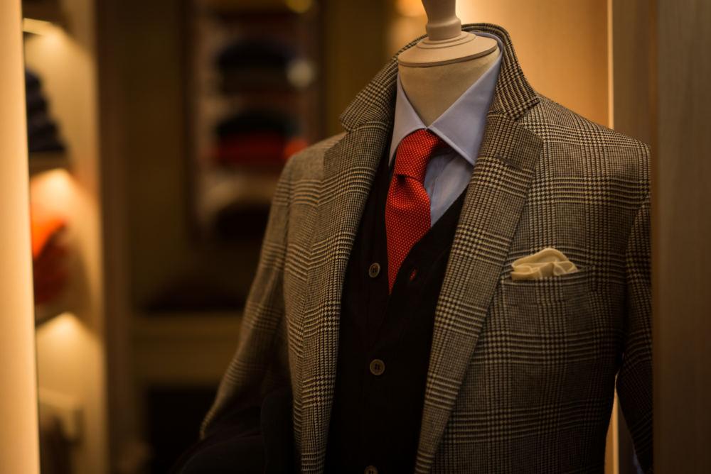 Anderson & Sheppard POW bespoke suit (3)