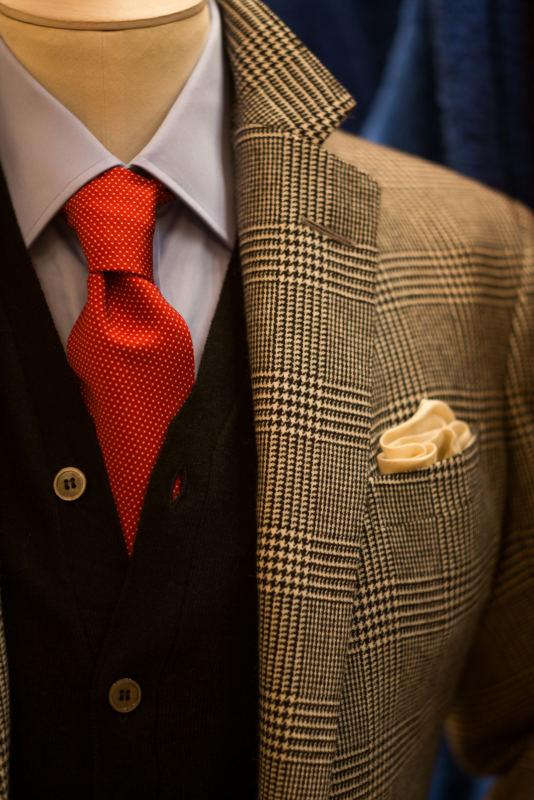 Anderson & Sheppard POW bespoke suit (4)