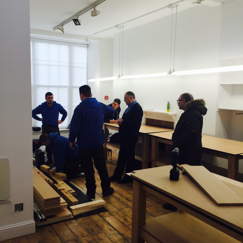 Anderson and Sheppard Workrooms Fit Out