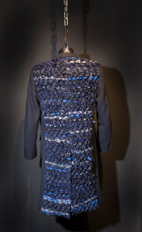 Knitted jacket exhibition