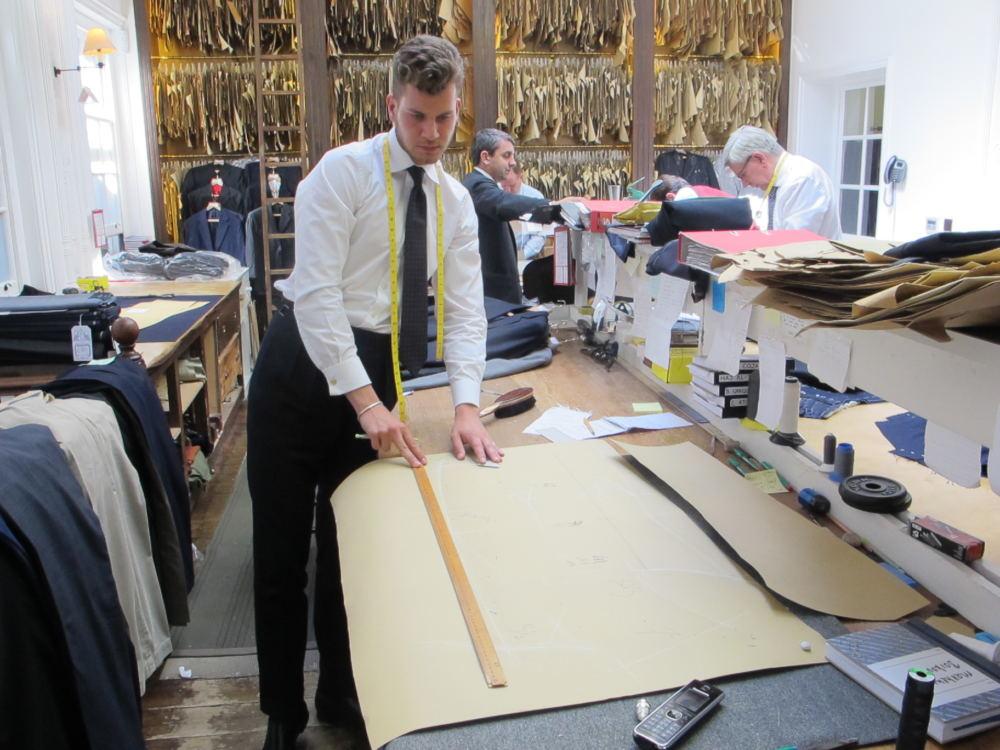 Matthew Borkowski coat cutting (1)