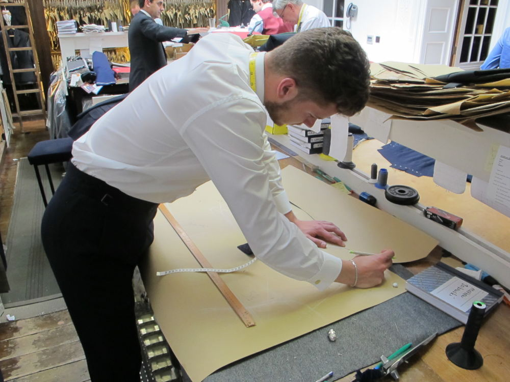 Matthew Borkowski coat cutting (2)