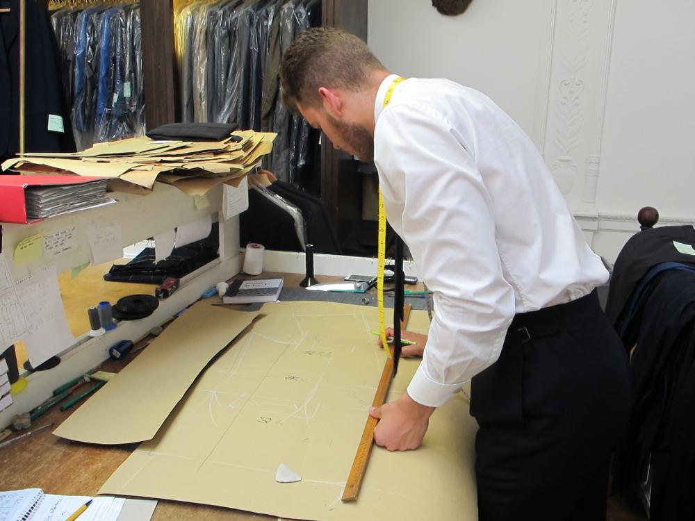 Matthew Borkowski coat cutting (3)