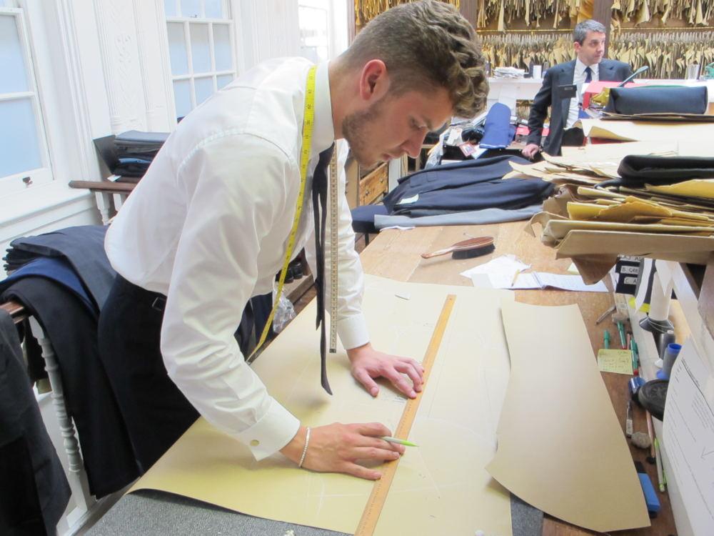 Matthew Borkowski coat cutting (4)