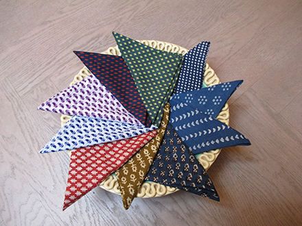 Summer Pocket Squares