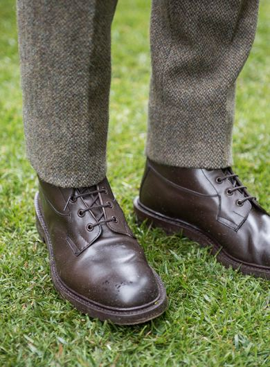 Anderson & Sheppard Savile Row Bespoke Tailors Savile Row Field Day Organisers Herringbone Trousers