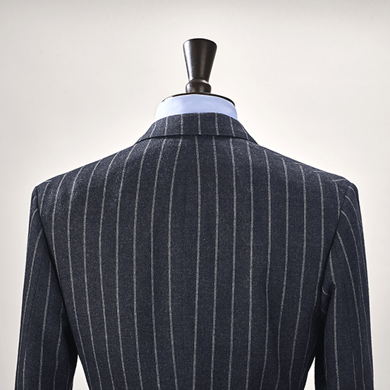 Anderson & Sheppard House Style Back of the Neck Bespoke Savile Row Tailors
