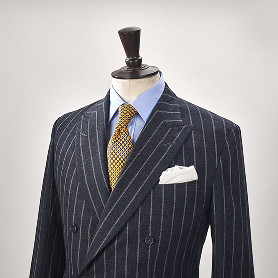 Anderson & Sheppard House Style High Armhole Bespoke Savile Row Tailors