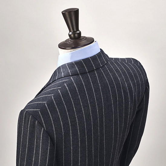 Anderson & Sheppard House Style Natural Shoulder Bespoke Savile Row Tailors