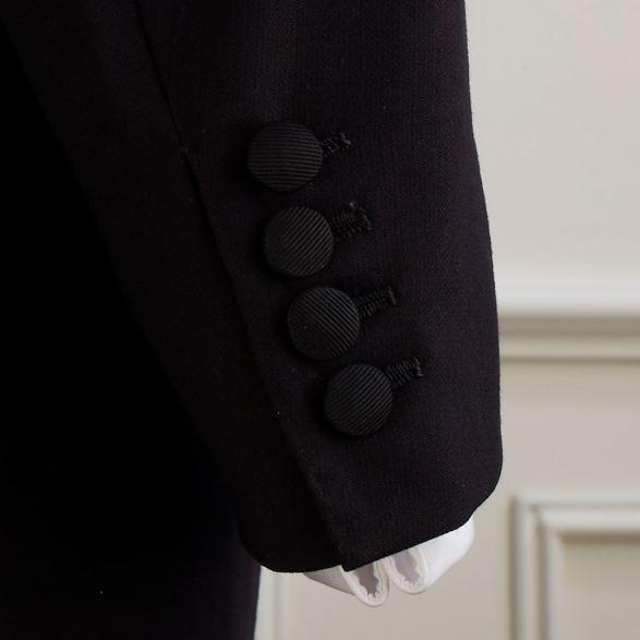 Anderson-&-Sheppard-Dinner-Jacket-Cuff-Detail Savile Row Bespoke Tailors