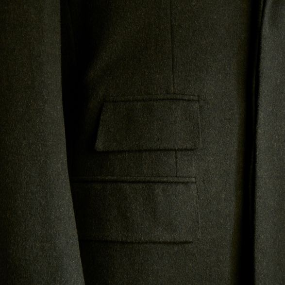 Anderson-&-Sheppard-Loden-Bespoke-Overcoat-with-Fly-Front-Detail Savile Row Bespoke Tailors