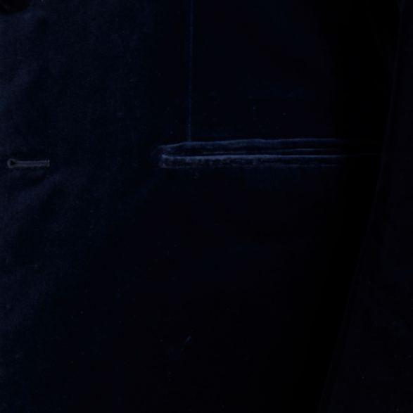 Anderson-&-Sheppard-Navy-Velvet-Jacket-Pocket-Detail Savile Row Bespoke Tailors
