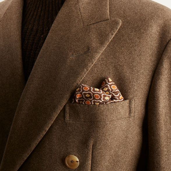 Anderson-and-Sheppard-Fawn-Bespoke-Double-Breasted-Overcoat-Detail Savile Row Bespoke Tailors